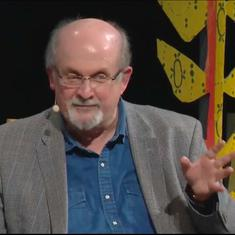 Watch: Salman Rushdie says he might be to blame for Donald Trump