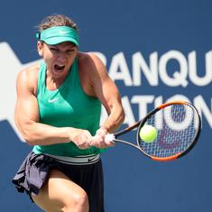 After retiring hurt from China Open, world No 1 Simona Halep worried about persistent back pain