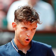 It's a joke: Thiem fumes after being asked to leave interview room to accommodate Serena Williams