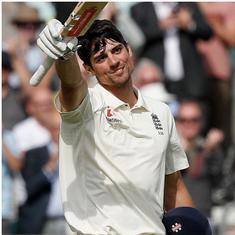 Fifth Test: A famous farewell ton for Alastair Cook, a familiar batting collapse for India