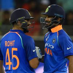 Third ODI: BCCI to make decision about Rohit Sharma, Shikhar Dhawan's participation on match day