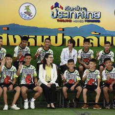 Thailand: Boys rescued from flooded cave make first public appearance, speak about ordeal
