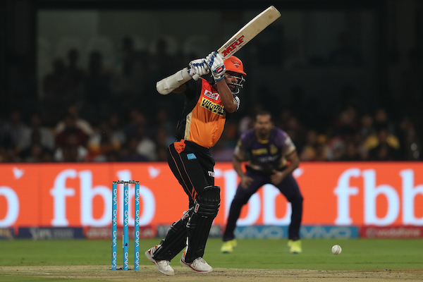 Shikhar Dhawan got out cheaply. Image credit: Ron Gaunt/IPL/Sportzpics