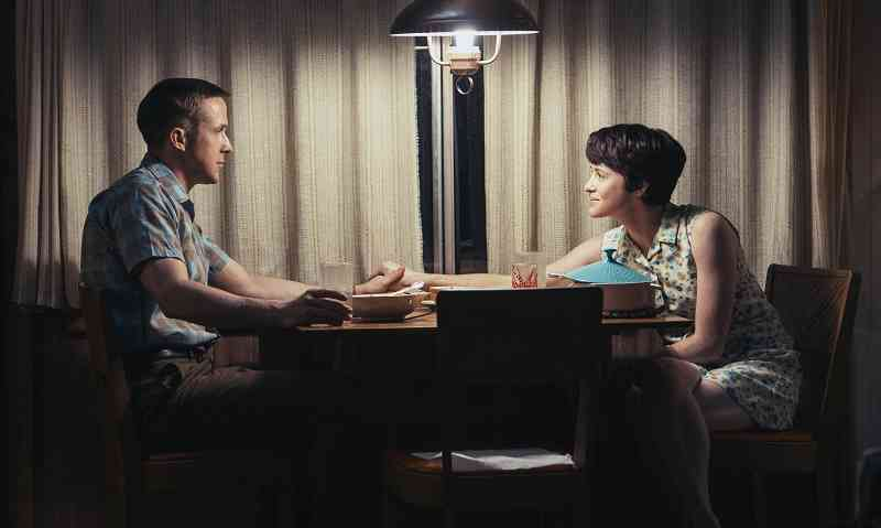 Ryan Gosling and Claire Foy in First Man. Courtesy Universal Pictures.