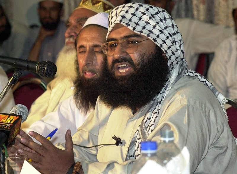 Masood Azhar. (Photo credit: AFP).