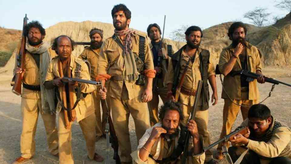 A still from 'Sonchiriya'. Dacoits and their lives have been the subject of many Hindi films. Photo credit: RSVP Movies.
