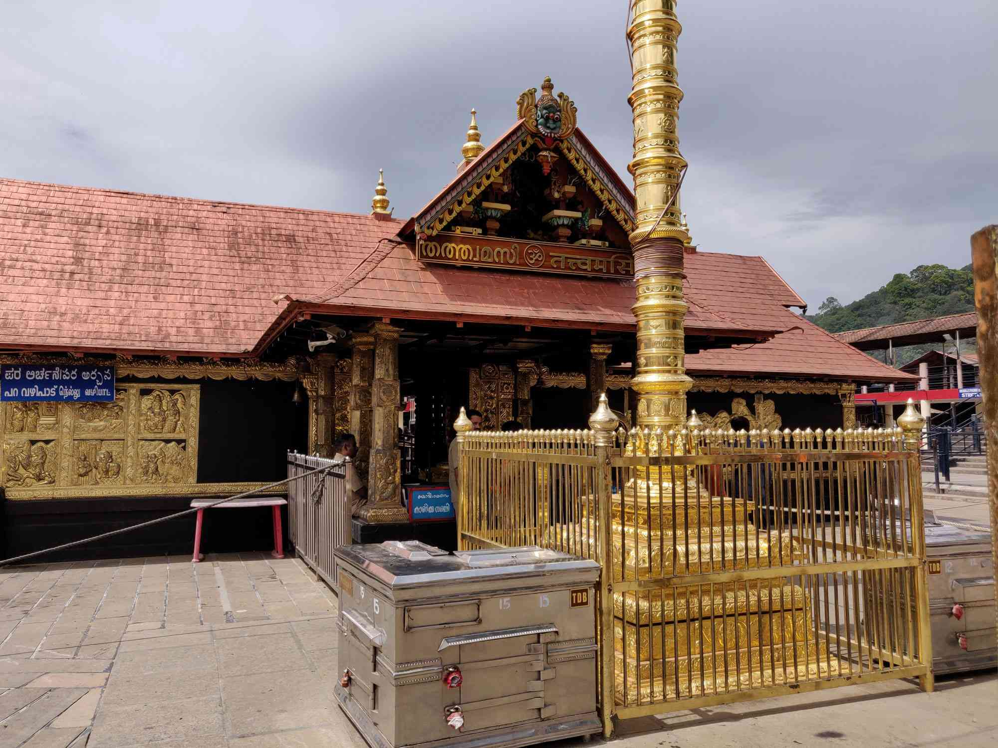 Sabarimala's Ayyappa temple is one South India's most popular pilgrimage centres. Photo credit: TA Ameerudheen
