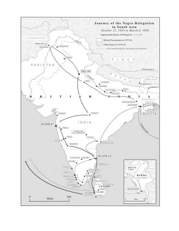 Journey of the delegation in South Asia. Credit: Marc Korpus [Licensed under CC BY 4.0]