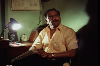Amrish Puri in Ardh Satya (1983). Courtesy Neo Films Associates.