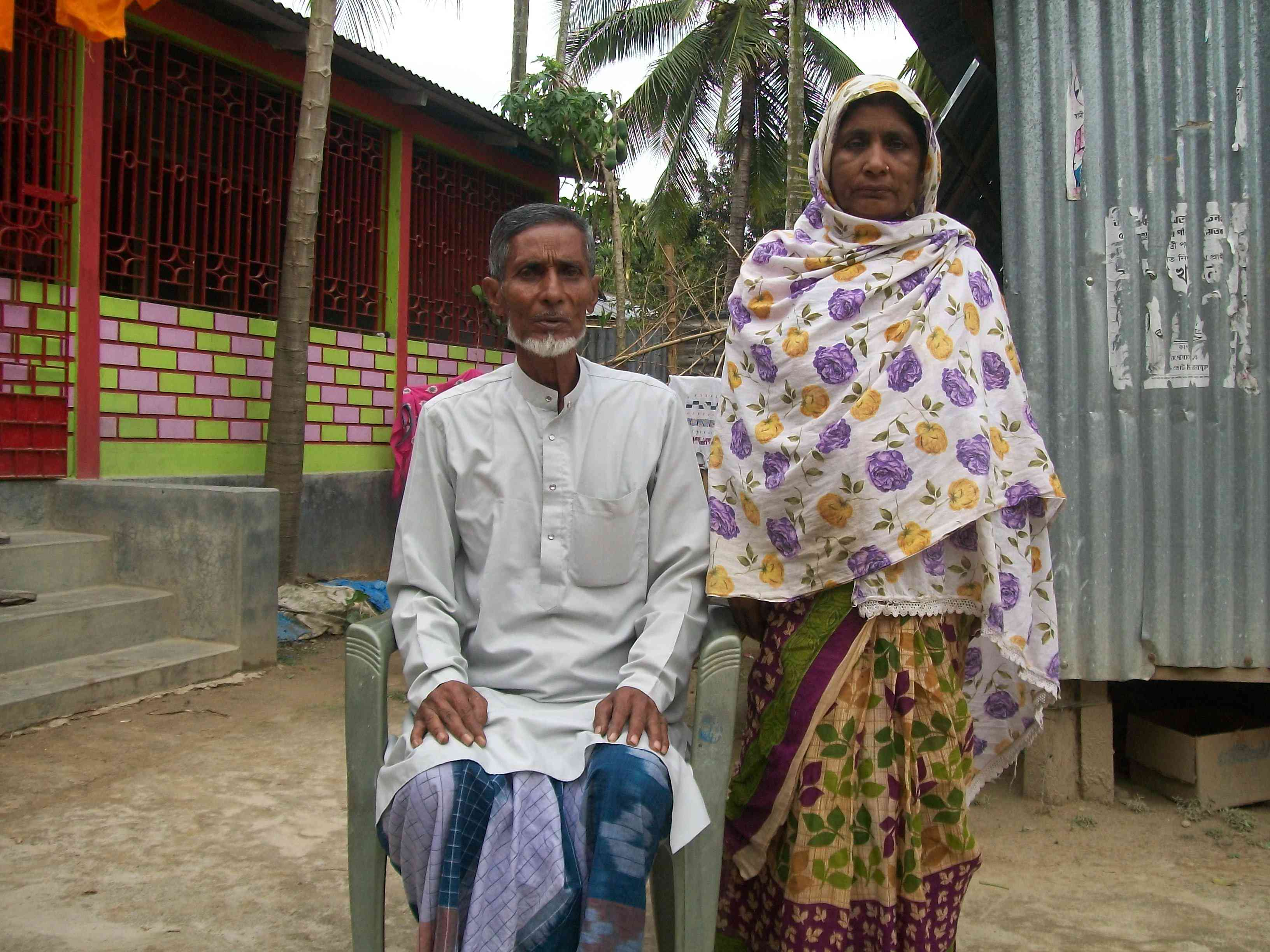 Romisa Khatun, who was left out of the draft register, and her husband, Jahanuddin Sheikh, are tired of Badruddin Ajmal's religious rhetoric. (Photo credit: Ipsita Chakravarty).