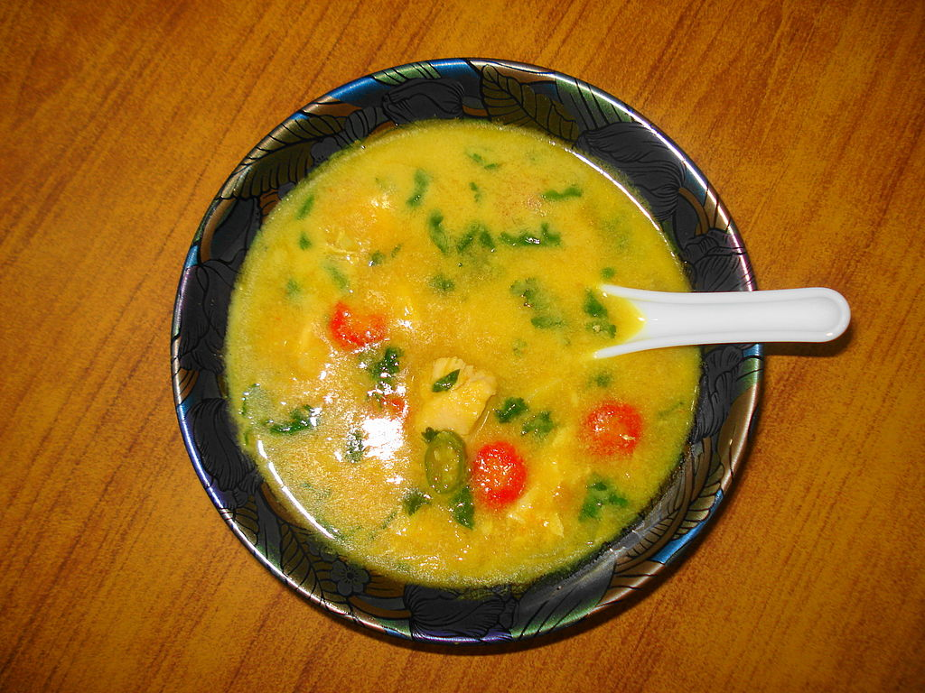 Mulligatawny Soup. Photo credit: Miansari66/Wikimedia Commons [Licensed under CC BY CC0 1.0 ]