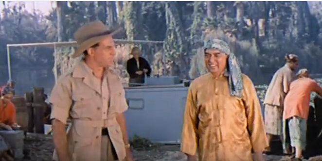 'Escape to Burma' (1955).