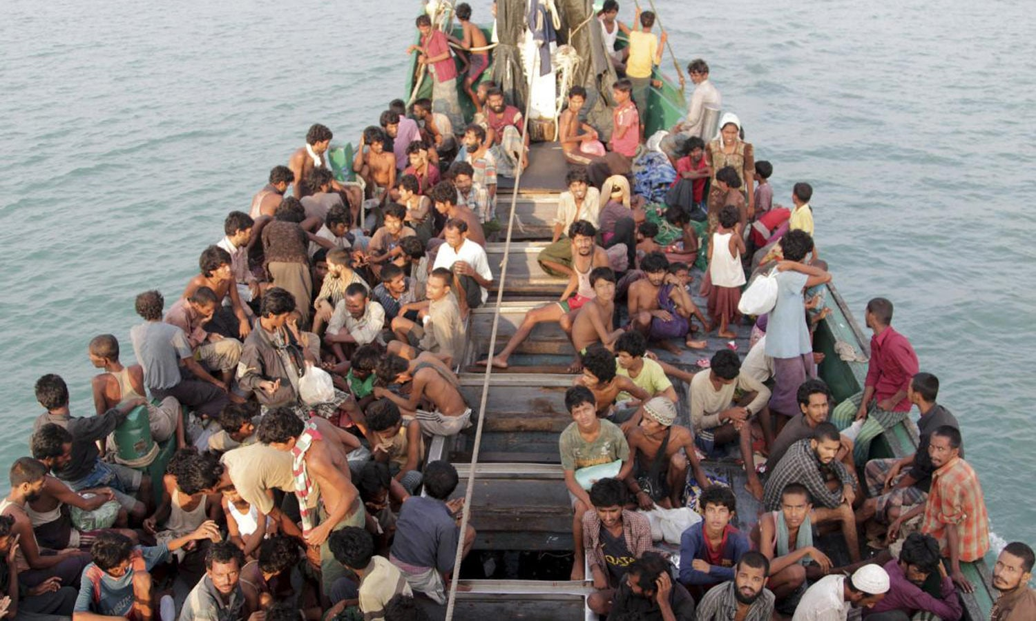 The Rohingyas are often called boat people for the perilous voyages they make to escape their homeland. (Credit: Reuters)