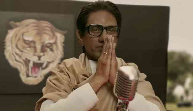 Nawazuddin Siddiqui in Thackeray. Courtesy Rauters Entertainment.