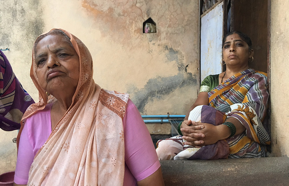Kusum Jadhav, grand-mother of the deceased. (Photo: Priyanka Vora)