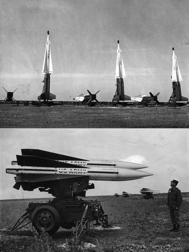 क्यूबा संकट के दौरान फ्लोरिडा में तैनात अमेरिकी मिसाइलें