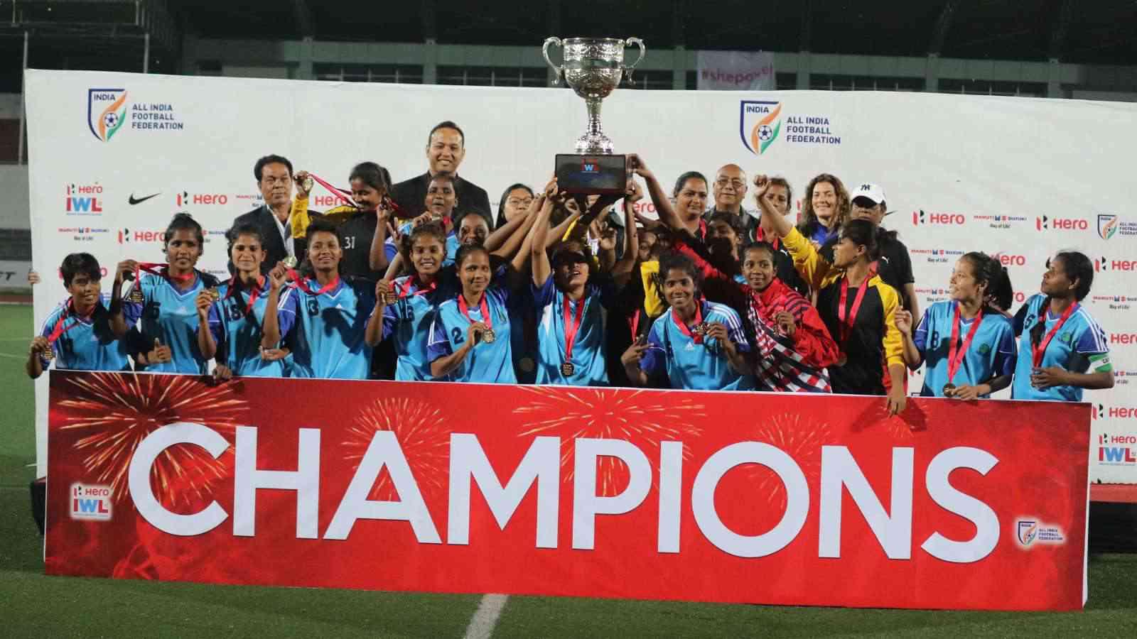 Rising Student's Club, winners of last year's edition. (Credit: AIFF Media)