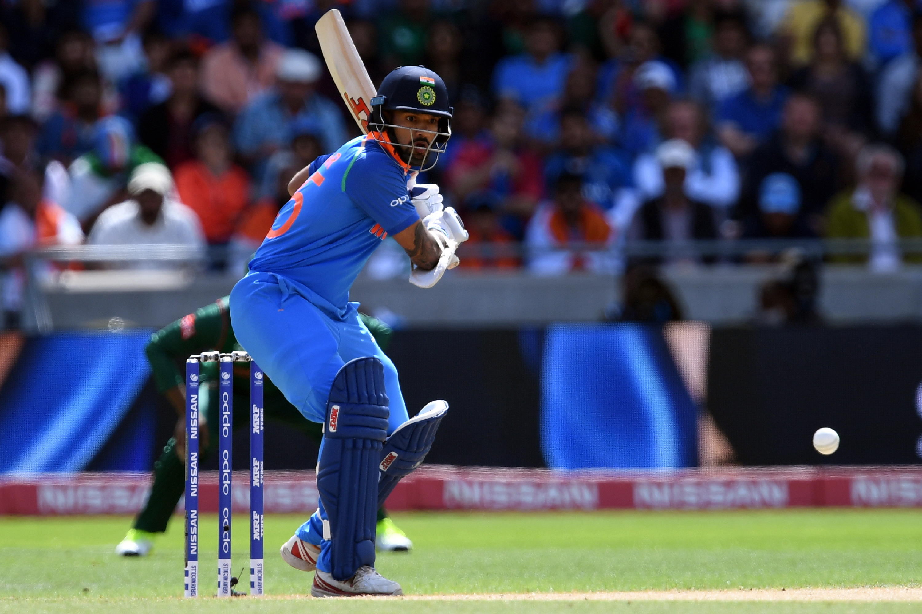 Shikhar Dhawan has been a man in form in this tournament. Photo: AFP