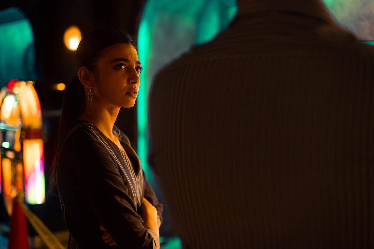 Radhika Apte in Sacred Games. Courtesy: Netflix