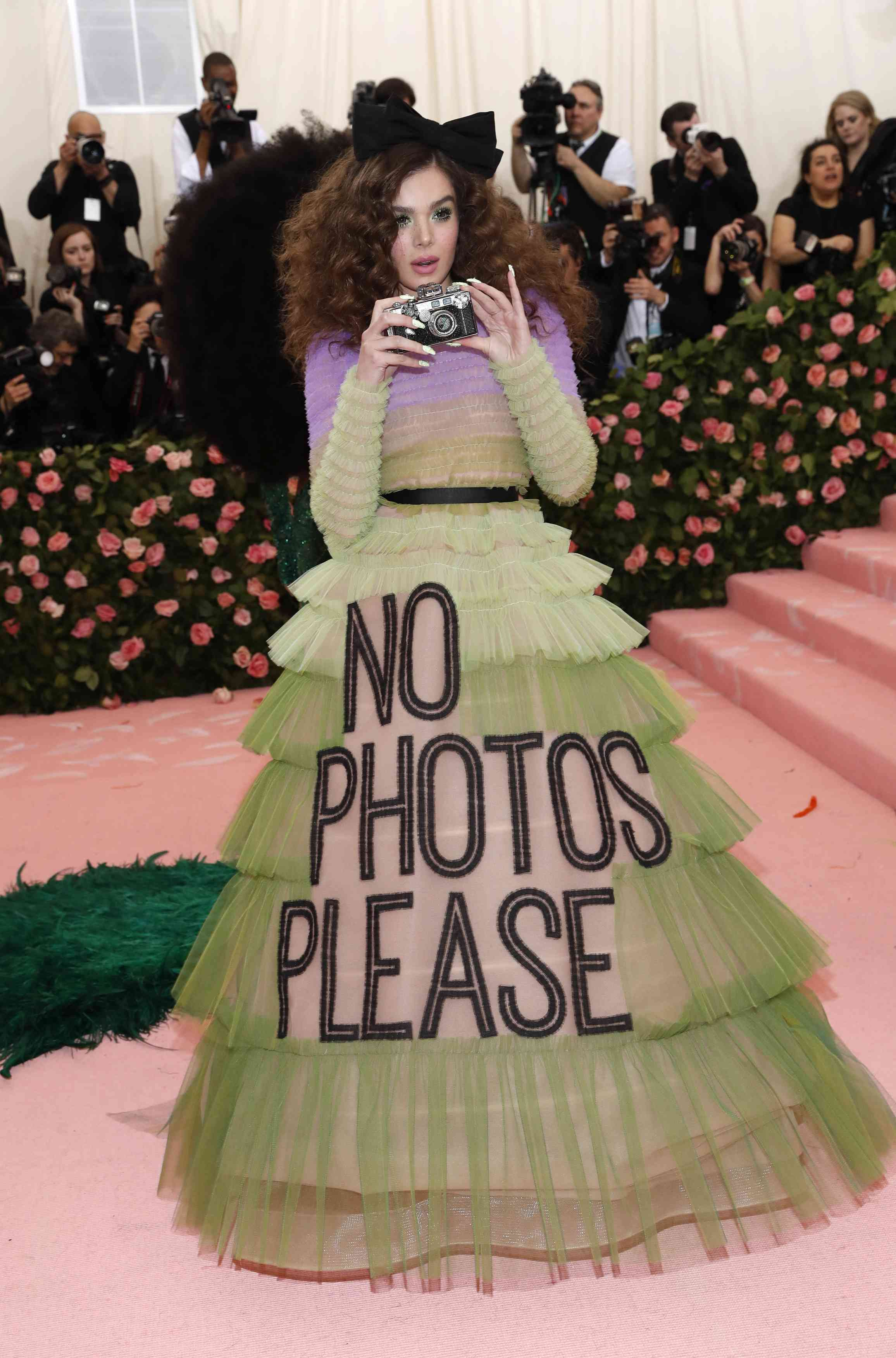 Hailee Steinfeld at the Met Gala 2019 | Image credit: Andrew Kelly / Reuters