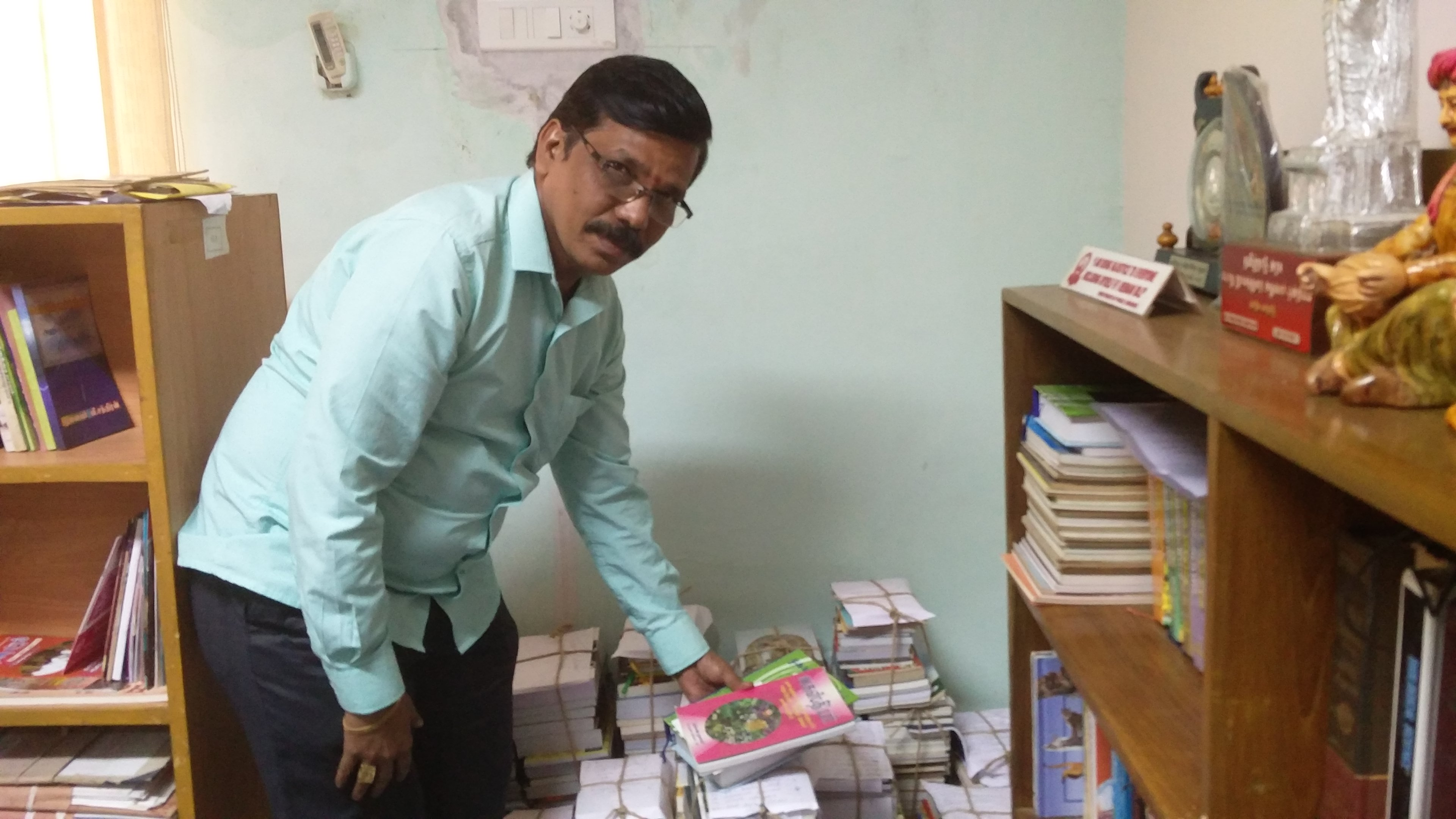S Kanappan, director of public libraries, is in charge of the initiative. (Credit: Vinita Govindarajan)