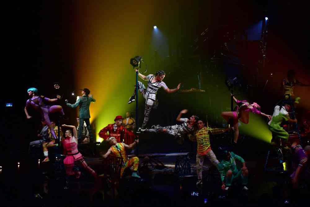 In November, Mumbai hosted the first-ever Cirque du Soleil production to premiere outside of Montreal. The Canada-based Cirque du Soleil is the largest theatrical producer in the world. The cast and crew who performed at the MMRDA Grounds in Bandra came from 50 countries. They included 27 dancers, 22 acrobats, two live musicians, and two Mallakhamba artists who gave the event a local flavour. Photo credit: Azhar Khan/Sopa Images.