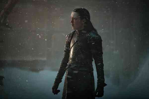 Lyanna Mormont (Bella Ramsey) in Game of Thrones. Courtesy HBO.