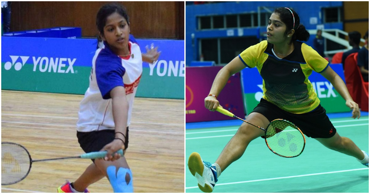 Gayatri Gopichand (left) and Aakarshi Kashyap have been picked in the Asian Games squad (Image: HT Photo/MBA)