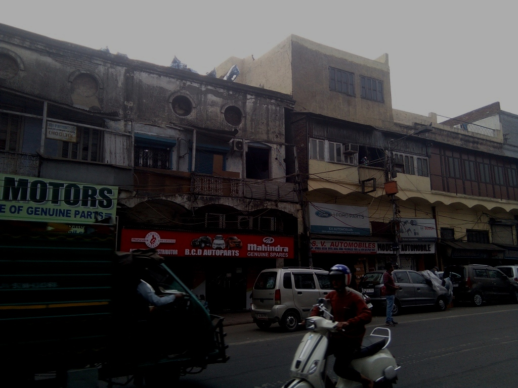 The auto parts market at Kashmere Gate, also in the list of notorious markets. Image credit: Abhishek Dey
