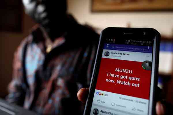 Hate spreads quickly online, potentially influencing election outcomes. Photo Credit: Reuters/Zohra Bensemra