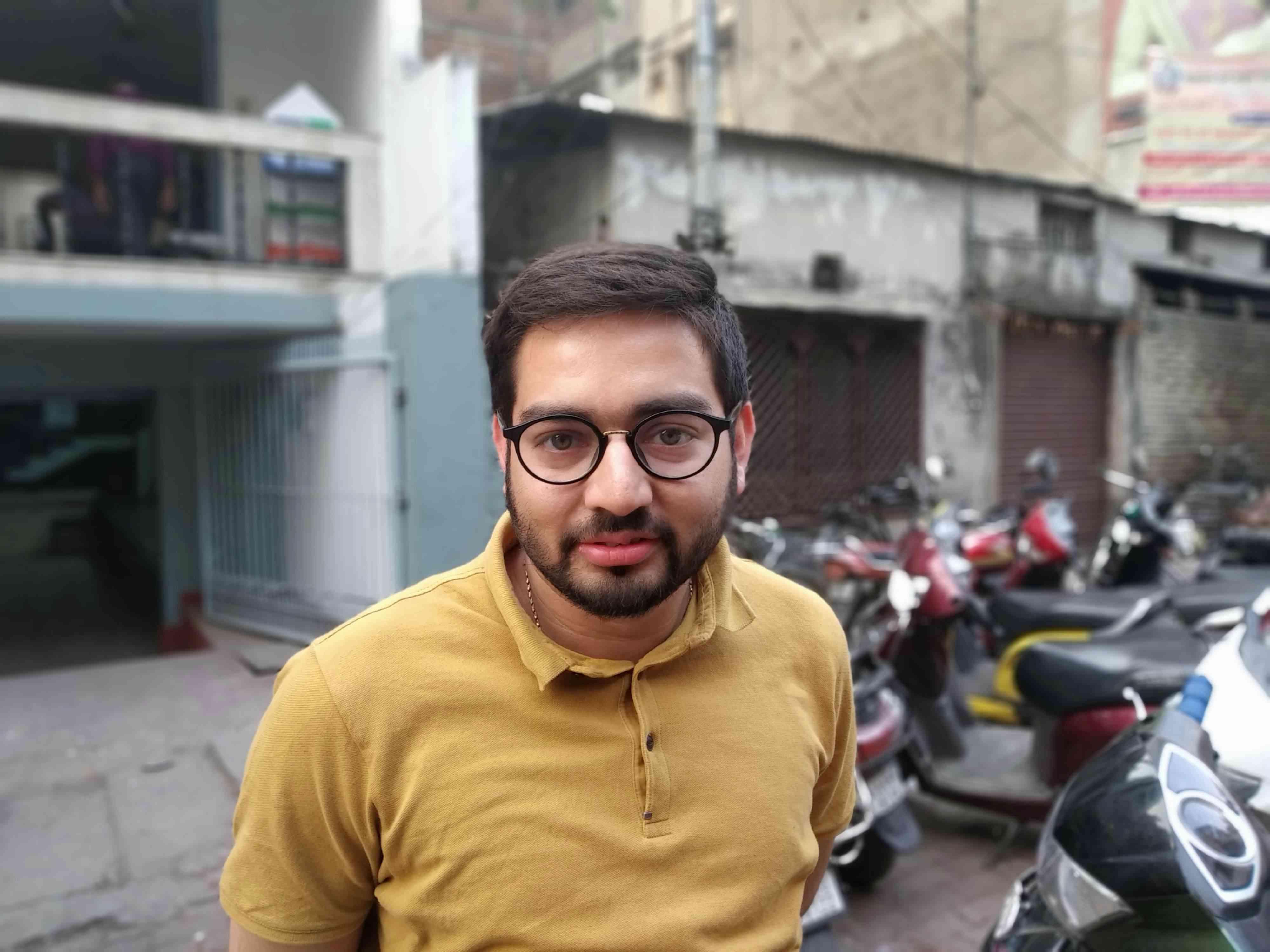 Amit Jain is a mustard oil trader at Fancy Bazaar, Guwahati. Photo credit: Arunabh Saikia