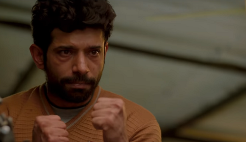 Vineet Kumar Singh in Mukkabaaz. Courtesy Colour Yellow Productions.