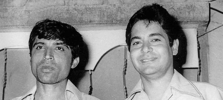 Javed Akhtar (left) and Salim Khan. Image credit: Shyam Aurangabadkar.