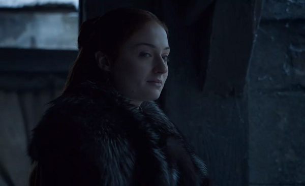 Sansa Stark (Sophie Turner) in Game of Thrones. Courtesy HBO.