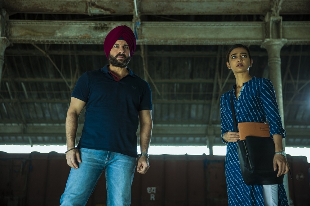 Saif Ali Khan and Radhika Apte in Scared Games. Image credit Ishika Mohan Motwane/Netflix.