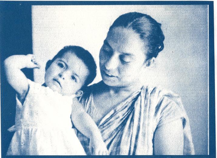 Diba Siddiqi's aunt Tahera (right). (Photograph courtesy: Diba Siddiqi).