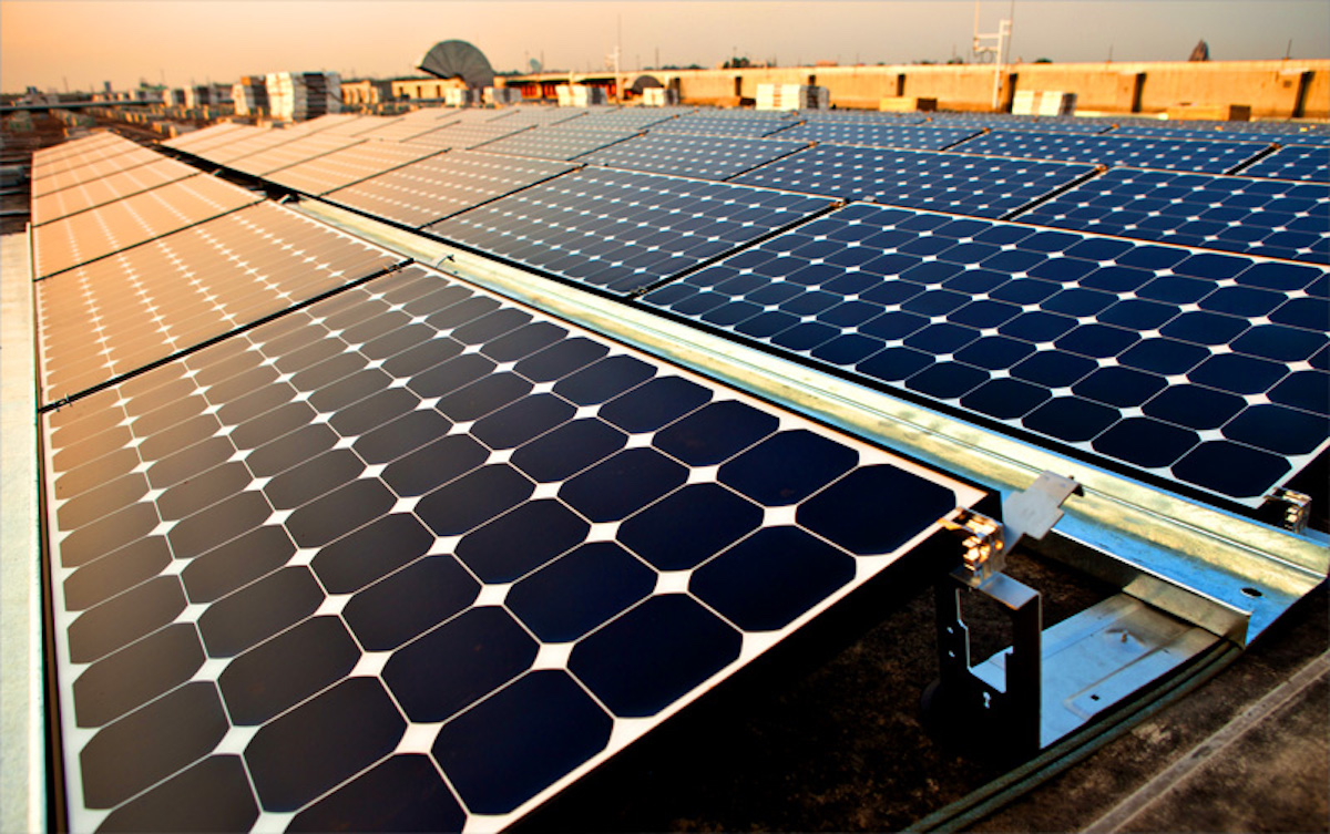 India's solar prospects look bright [image by Intel Free Press]