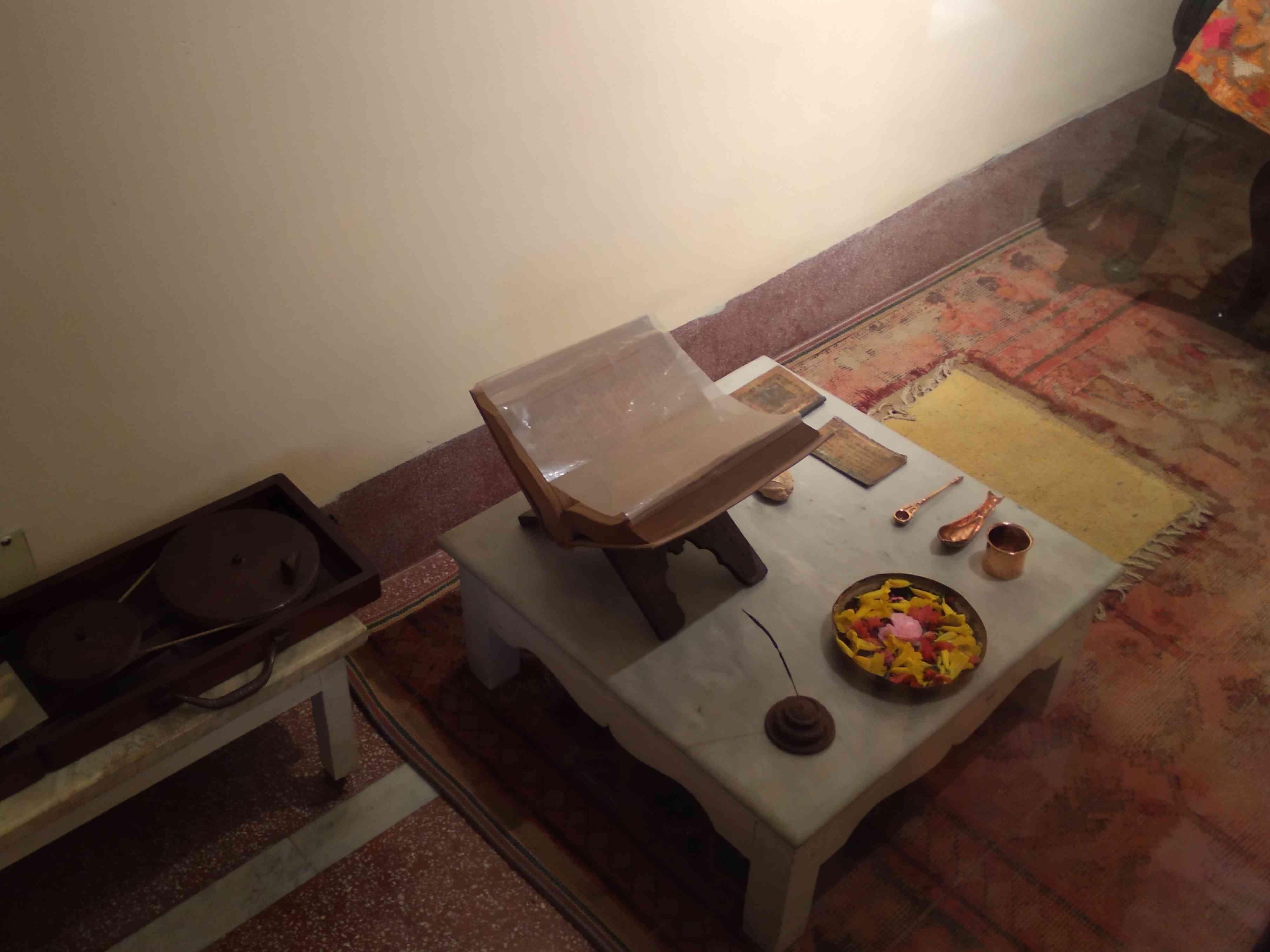 स्वरूपरानी नेहरू का कमरा
