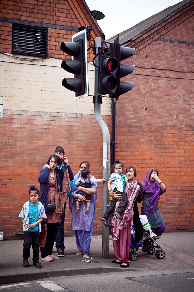 Worshippers, from the Migration Museum's '100 Images of Migration' exhibition © Kajal Nisha Patel