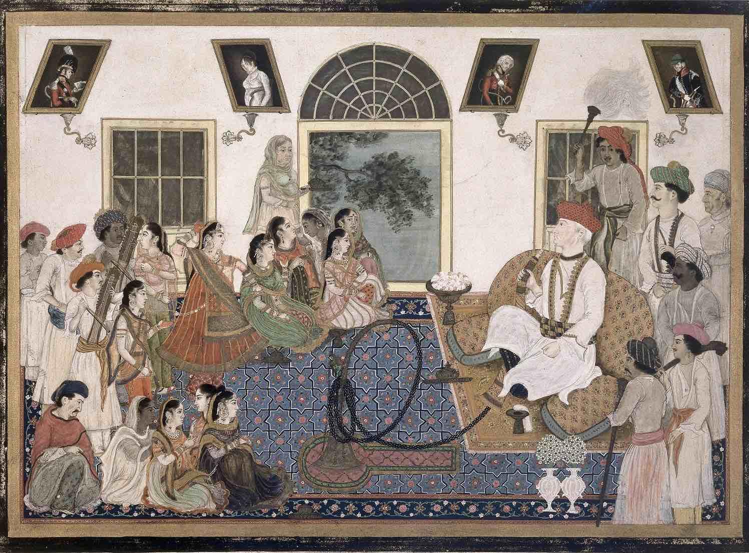 Sir David Ochterlony, the British Resident at the Mughal court c. 1815.