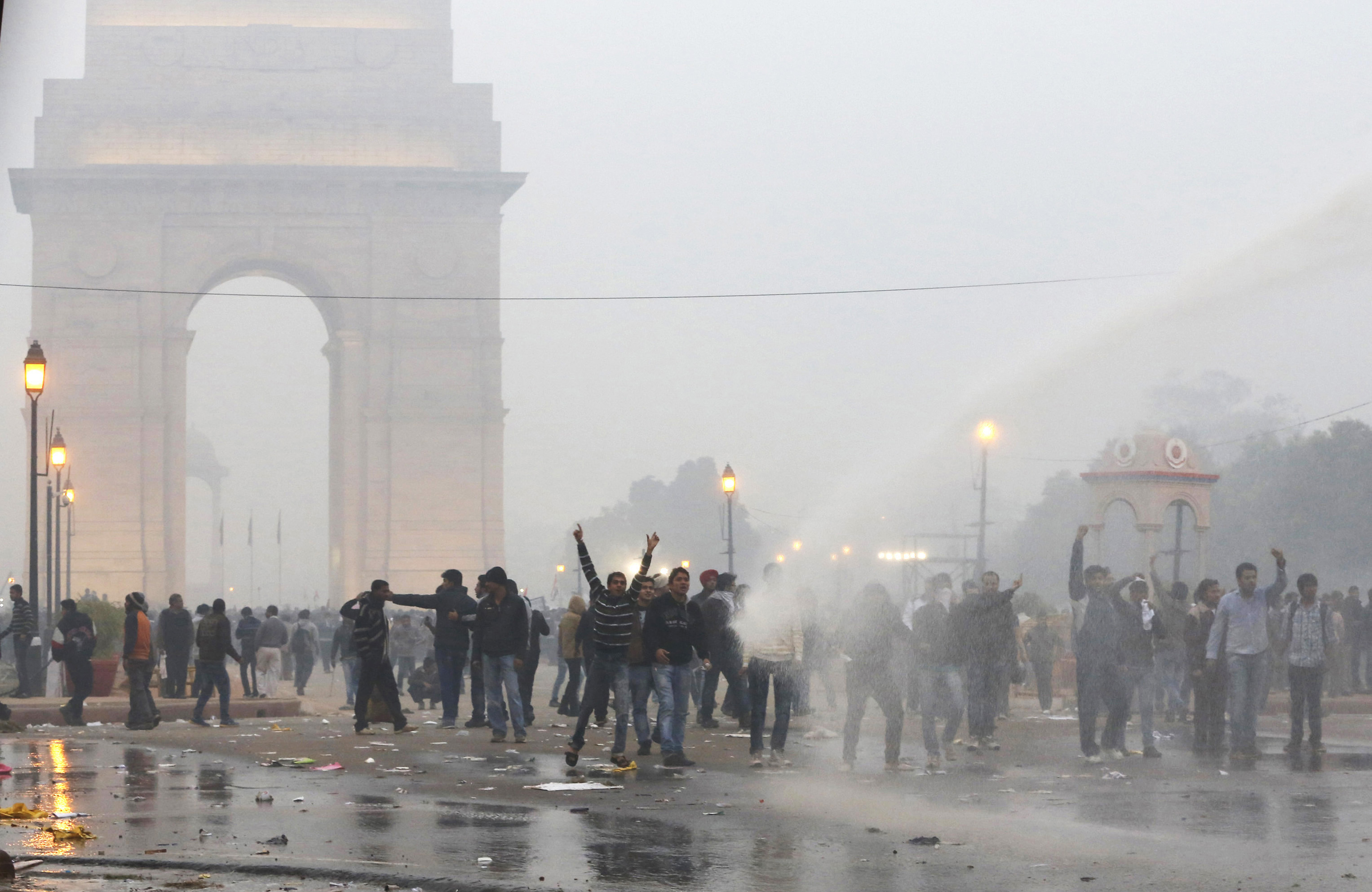 Protest against the Delhi gangrape at India Gate in December 2012. Photo credit: Reuters