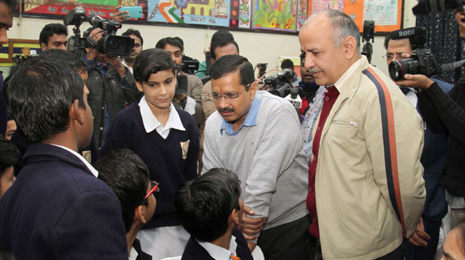 The measures undertaken by the Delhi government in its schools invade the pedagogical space of the classroom. (Photo credit: PTI)
