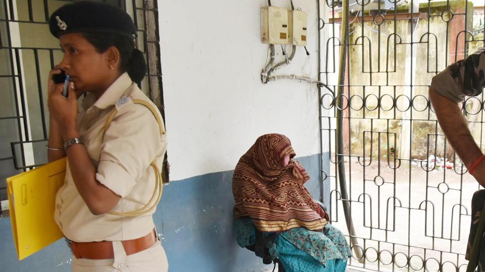 After the child welfare committee raids on Nirmal Hriday, children were taken away from other shelters run by the Missionaries of Charity. (Photo credit: HT).
