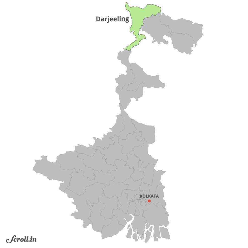 दार्जिलिंग संसदीय क्षेत्र | साभार : स्क्रोल.इन