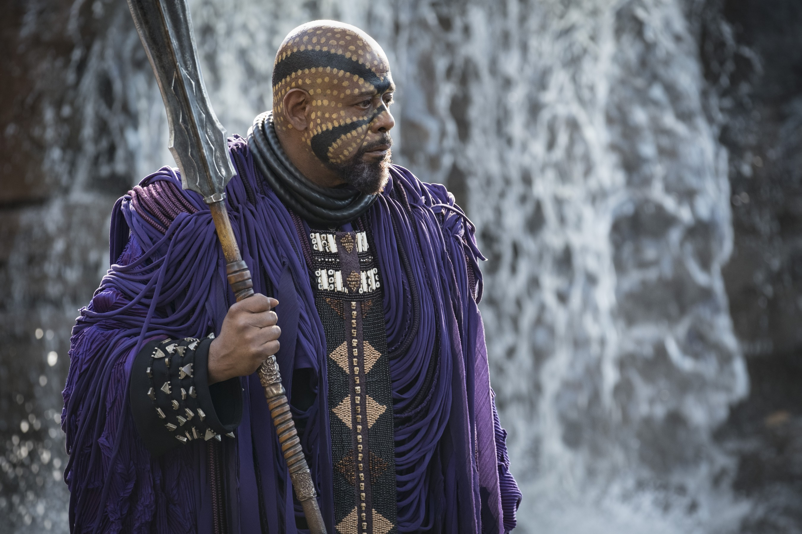 Forest Whitaker in Black Panther. Courtesy Marvel Studios.