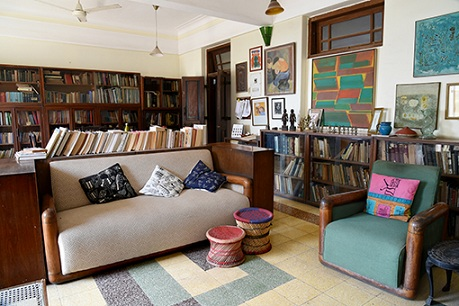 The living room. Courtesy Rahul Ranadive.