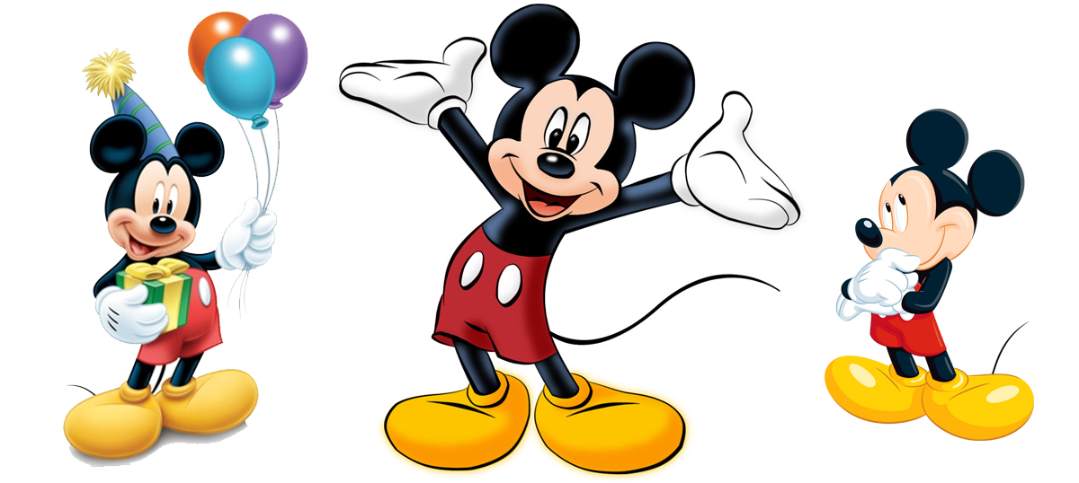 en garde mickey mouse is 88 years old