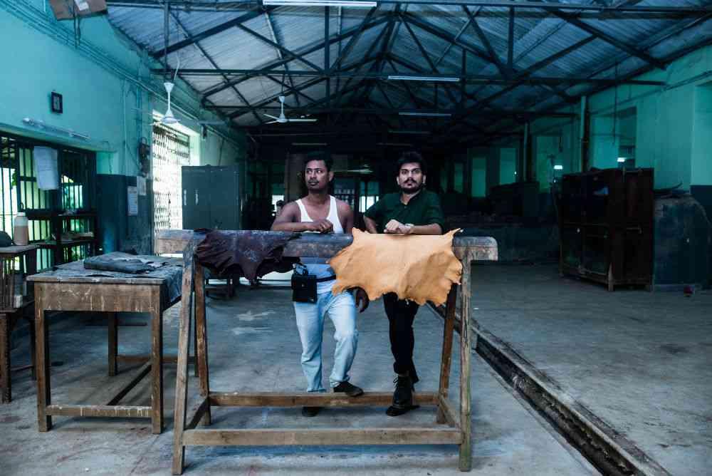 Sachin Bhimsakhare (left) with Rajbhar.