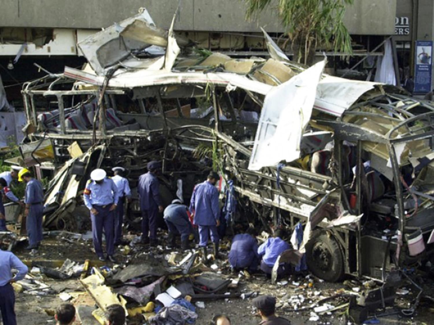 The first major terror attack in Karachi by extremist outfits took place in 2002.
