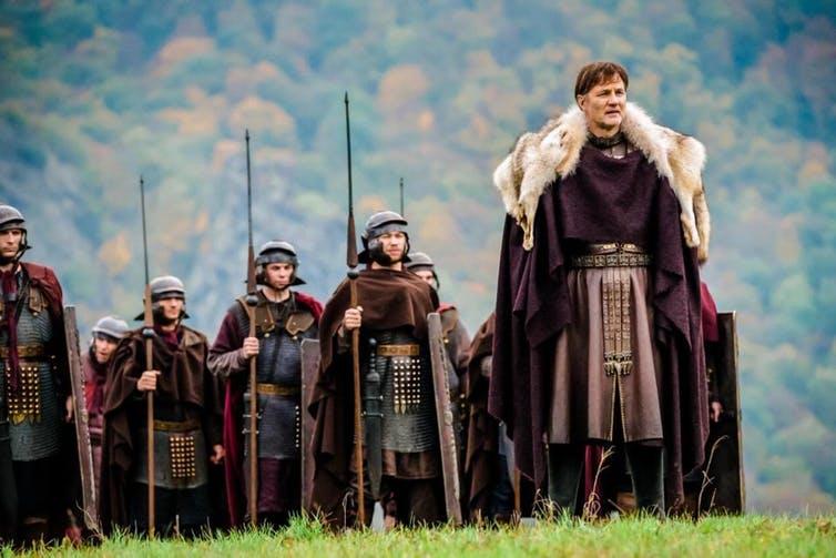 David Morrissey as Aulus Plautius. Courtesy Sky Vision.